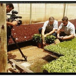 Agrofior recebe a equipe do Programa Negócios da Terra Fevereiro 2018